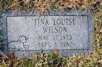 WILSON, TINA LOUISE - Juniata County, Pennsylvania   TINA LOUISE WILSON - Pennsylvania Gravestone Photos