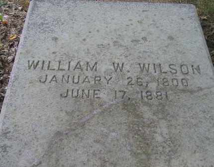 WILSON, WILLIAM WHITE - Juniata County, Pennsylvania | WILLIAM WHITE WILSON - Pennsylvania Gravestone Photos