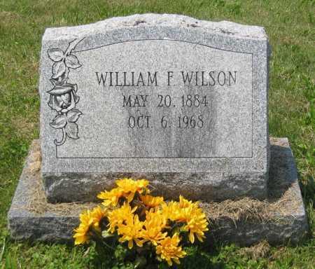 WILSON, WILLIAM F. - Juniata County, Pennsylvania | WILLIAM F. WILSON - Pennsylvania Gravestone Photos