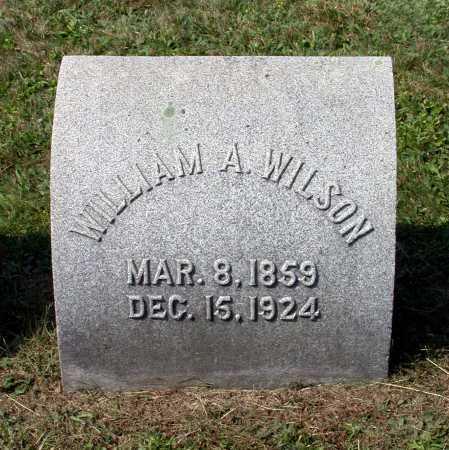 WILSON, WILLIAM AMBROSE - Juniata County, Pennsylvania   WILLIAM AMBROSE WILSON - Pennsylvania Gravestone Photos