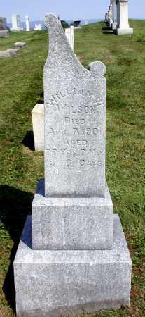 WILSON, WILLIAM WALLACE - Juniata County, Pennsylvania   WILLIAM WALLACE WILSON - Pennsylvania Gravestone Photos