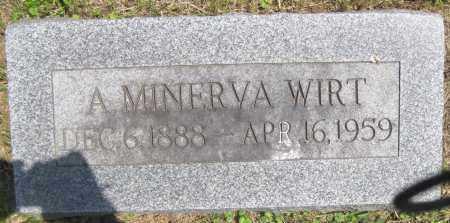 WOODS WIRT, ALICE MINERVA - Juniata County, Pennsylvania | ALICE MINERVA WOODS WIRT - Pennsylvania Gravestone Photos