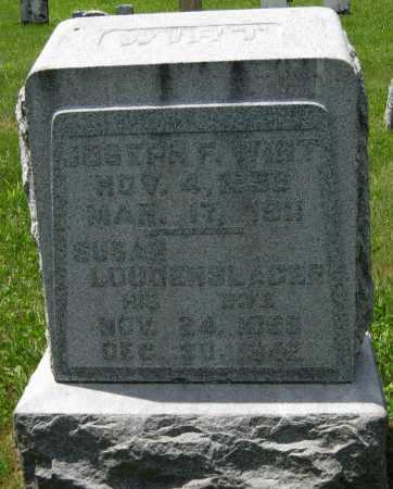 LOUDENSLAGER WIRT, SUSAN - Juniata County, Pennsylvania | SUSAN LOUDENSLAGER WIRT - Pennsylvania Gravestone Photos