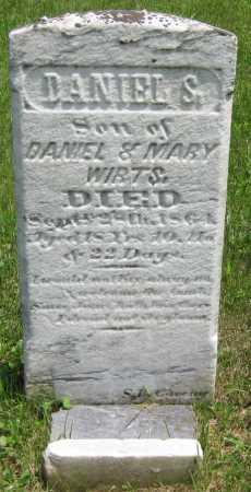 WIRTS, DANIEL S. - Juniata County, Pennsylvania | DANIEL S. WIRTS - Pennsylvania Gravestone Photos