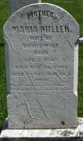 WIRT, MARIA - Juniata County, Pennsylvania | MARIA WIRT - Pennsylvania Gravestone Photos