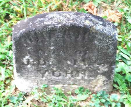 YOHN, (INFANT SON) - Juniata County, Pennsylvania   (INFANT SON) YOHN - Pennsylvania Gravestone Photos