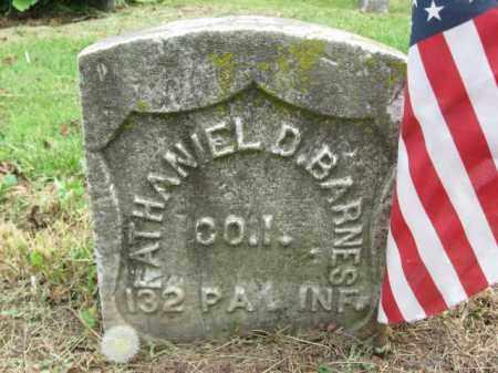 BARNES (CW), NATHANIEL D. - Lackawanna County, Pennsylvania | NATHANIEL D. BARNES (CW) - Pennsylvania Gravestone Photos