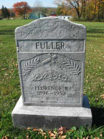 FULLER, FLORENCE B. - Lackawanna County, Pennsylvania | FLORENCE B. FULLER - Pennsylvania Gravestone Photos