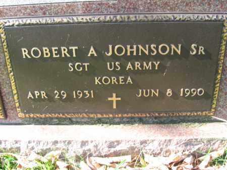 JOHNSON,SR. (KOREA), ROBERT A. - Lackawanna County, Pennsylvania | ROBERT A. JOHNSON,SR. (KOREA) - Pennsylvania Gravestone Photos