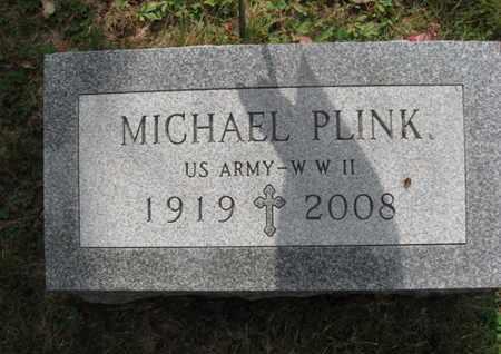 PLINK (WW II), MICHAEL - Lackawanna County, Pennsylvania | MICHAEL PLINK (WW II) - Pennsylvania Gravestone Photos