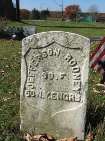 RODNEY (CW), JEFFERSON - Lackawanna County, Pennsylvania   JEFFERSON RODNEY (CW) - Pennsylvania Gravestone Photos