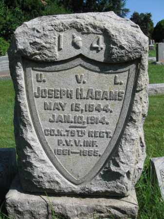 ADAMS (CW), JOSEPH H. - Lancaster County, Pennsylvania | JOSEPH H. ADAMS (CW) - Pennsylvania Gravestone Photos