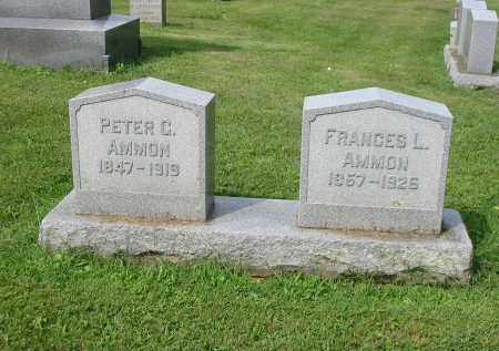 AMMON, PETER C - Lancaster County, Pennsylvania | PETER C AMMON - Pennsylvania Gravestone Photos