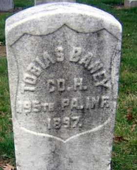 BARNEY (CW), TOBIAS - Lancaster County, Pennsylvania   TOBIAS BARNEY (CW) - Pennsylvania Gravestone Photos