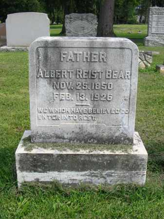 BEAR, ALBERT REIST - Lancaster County, Pennsylvania | ALBERT REIST BEAR - Pennsylvania Gravestone Photos
