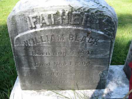 BLACK (CW), WILLIAM M. - Lancaster County, Pennsylvania   WILLIAM M. BLACK (CW) - Pennsylvania Gravestone Photos