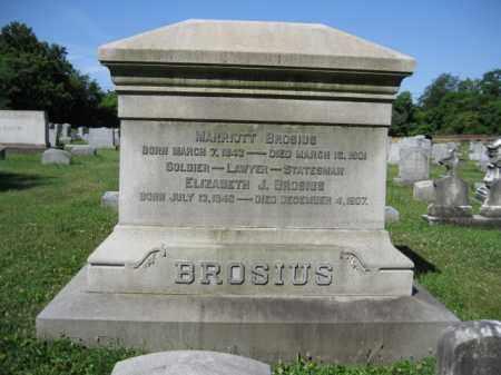 BROSIUS (CW), MARRIOTT - Lancaster County, Pennsylvania | MARRIOTT BROSIUS (CW) - Pennsylvania Gravestone Photos
