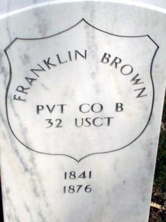 BROWN (CW), FRANKLIN - Lancaster County, Pennsylvania | FRANKLIN BROWN (CW) - Pennsylvania Gravestone Photos