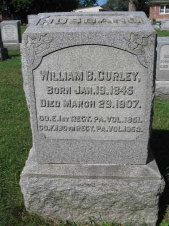 CURLEY (CW), WILLIAM B. - Lancaster County, Pennsylvania | WILLIAM B. CURLEY (CW) - Pennsylvania Gravestone Photos