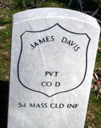 DAVIS (CW), JAMES - Lancaster County, Pennsylvania | JAMES DAVIS (CW) - Pennsylvania Gravestone Photos