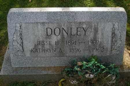 DONLEY, JESSE H - Lancaster County, Pennsylvania | JESSE H DONLEY - Pennsylvania Gravestone Photos