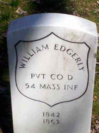 EDGERLY (CW), WILLIAM - Lancaster County, Pennsylvania | WILLIAM EDGERLY (CW) - Pennsylvania Gravestone Photos