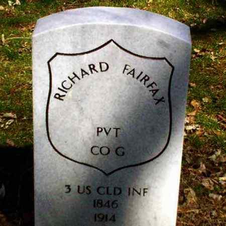 FAIRFAX (CW), RICHARD - Lancaster County, Pennsylvania | RICHARD FAIRFAX (CW) - Pennsylvania Gravestone Photos