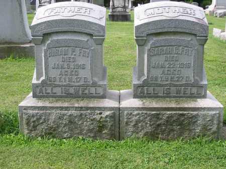 FRY, SARAH C - Lancaster County, Pennsylvania | SARAH C FRY - Pennsylvania Gravestone Photos