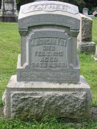 FRY, J MORGAN - Lancaster County, Pennsylvania | J MORGAN FRY - Pennsylvania Gravestone Photos