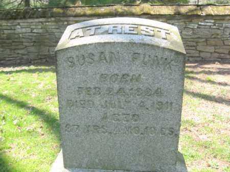 FUNK, SUSAN - Lancaster County, Pennsylvania   SUSAN FUNK - Pennsylvania Gravestone Photos