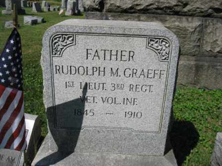 GRAEFF (CW), RUDOLPH M. - Lancaster County, Pennsylvania | RUDOLPH M. GRAEFF (CW) - Pennsylvania Gravestone Photos