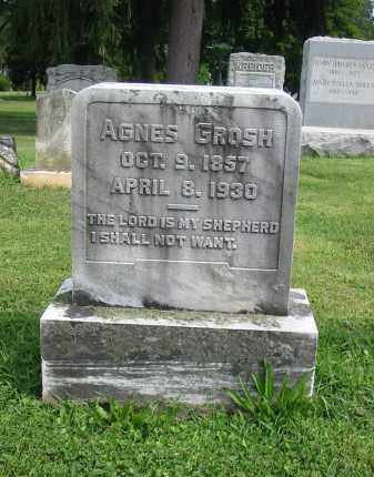 GROSH, AGNES - Lancaster County, Pennsylvania | AGNES GROSH - Pennsylvania Gravestone Photos