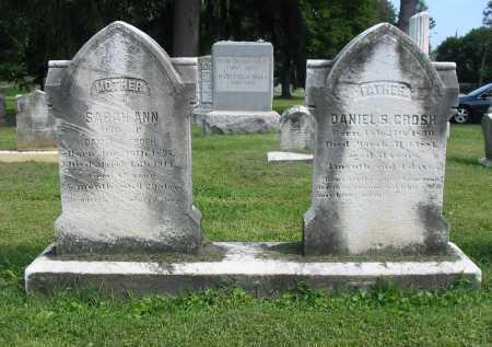 GROSH, SARAH ANN - Lancaster County, Pennsylvania | SARAH ANN GROSH - Pennsylvania Gravestone Photos