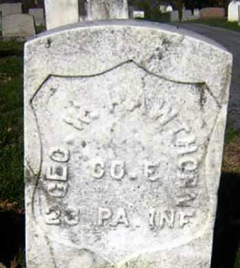 HAWTHORN (CW), GEORGE W. - Lancaster County, Pennsylvania | GEORGE W. HAWTHORN (CW) - Pennsylvania Gravestone Photos