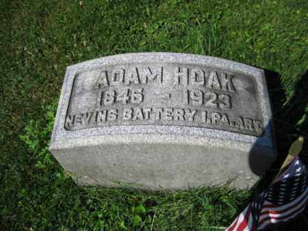HOAK (CW), ADAM - Lancaster County, Pennsylvania | ADAM HOAK (CW) - Pennsylvania Gravestone Photos