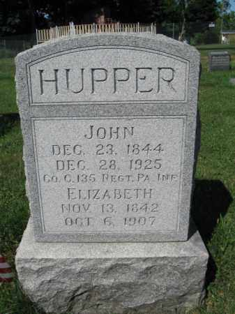 HUPPER (CW), JOHN - Lancaster County, Pennsylvania | JOHN HUPPER (CW) - Pennsylvania Gravestone Photos