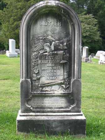 KAUFFMAN, MARY H - Lancaster County, Pennsylvania | MARY H KAUFFMAN - Pennsylvania Gravestone Photos