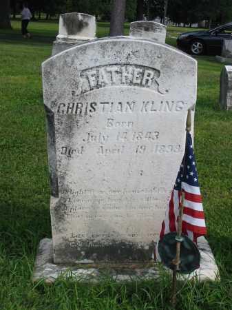 KLING, CHRISTIAN - Lancaster County, Pennsylvania | CHRISTIAN KLING - Pennsylvania Gravestone Photos