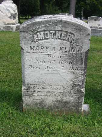 KLING, MARY A - Lancaster County, Pennsylvania   MARY A KLING - Pennsylvania Gravestone Photos