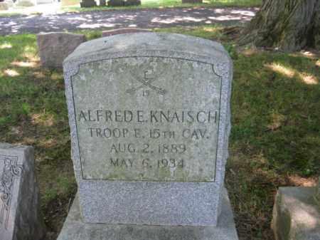 KNAISCH (WW I), ALFRED E. - Lancaster County, Pennsylvania | ALFRED E. KNAISCH (WW I) - Pennsylvania Gravestone Photos