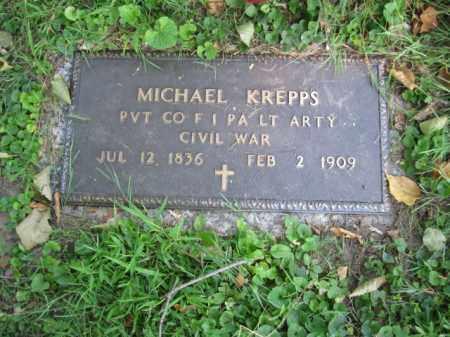 KREPPS (CW), MICHAEL - Lancaster County, Pennsylvania | MICHAEL KREPPS (CW) - Pennsylvania Gravestone Photos