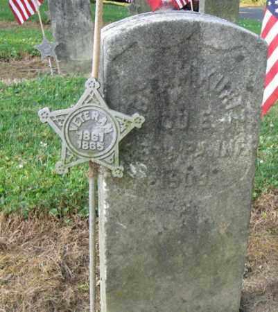 KURTZ (CW), ABRAHAM - Lancaster County, Pennsylvania | ABRAHAM KURTZ (CW) - Pennsylvania Gravestone Photos