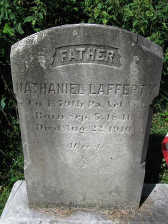 LAFFERTY (CW), NATHANIEL - Lancaster County, Pennsylvania | NATHANIEL LAFFERTY (CW) - Pennsylvania Gravestone Photos