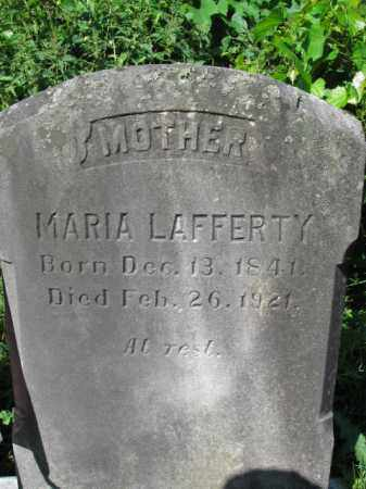 LAFFERTY, MARIA - Lancaster County, Pennsylvania | MARIA LAFFERTY - Pennsylvania Gravestone Photos