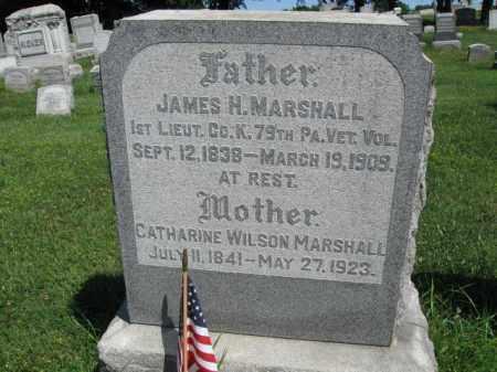 MARSHALL (CW), JAMES H. - Lancaster County, Pennsylvania | JAMES H. MARSHALL (CW) - Pennsylvania Gravestone Photos