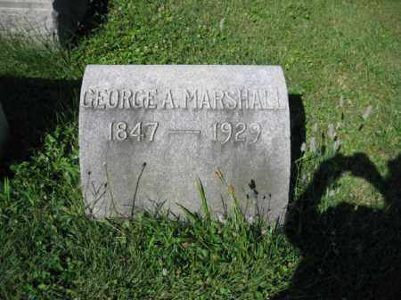 MARSHALL, GEORGE A. - Lancaster County, Pennsylvania | GEORGE A. MARSHALL - Pennsylvania Gravestone Photos