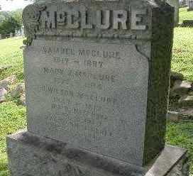 MCCLURE, FAMILY - Lancaster County, Pennsylvania   FAMILY MCCLURE - Pennsylvania Gravestone Photos