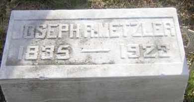 METZLER, JOSEPH R. - Lancaster County, Pennsylvania | JOSEPH R. METZLER - Pennsylvania Gravestone Photos