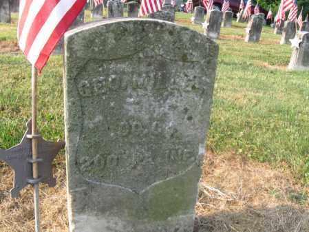 MILLER (CW), GEORGE - Lancaster County, Pennsylvania | GEORGE MILLER (CW) - Pennsylvania Gravestone Photos