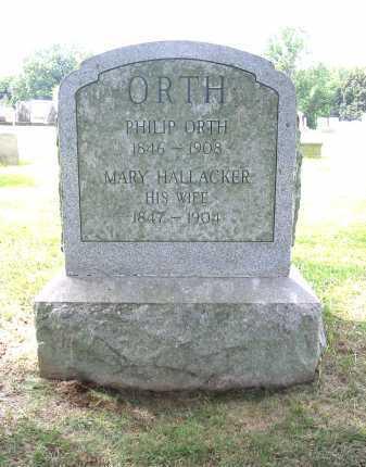 ORTH, PHILIP - Lancaster County, Pennsylvania | PHILIP ORTH - Pennsylvania Gravestone Photos